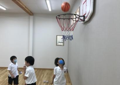 多目的ホール・体育の授業