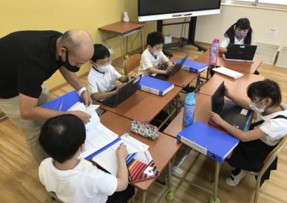 夏の学童保育